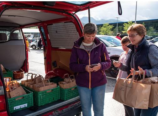 Gjenbruksboden ved Steinerskolen i Trondheim